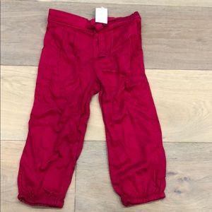 Baby Gap Girls pants Red